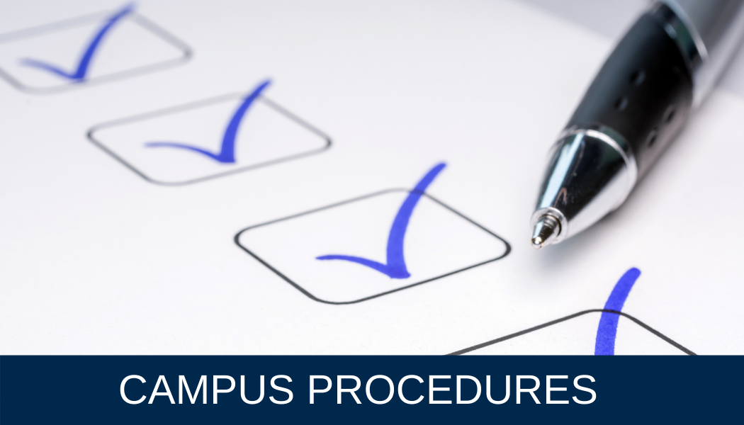 Campus Procedures