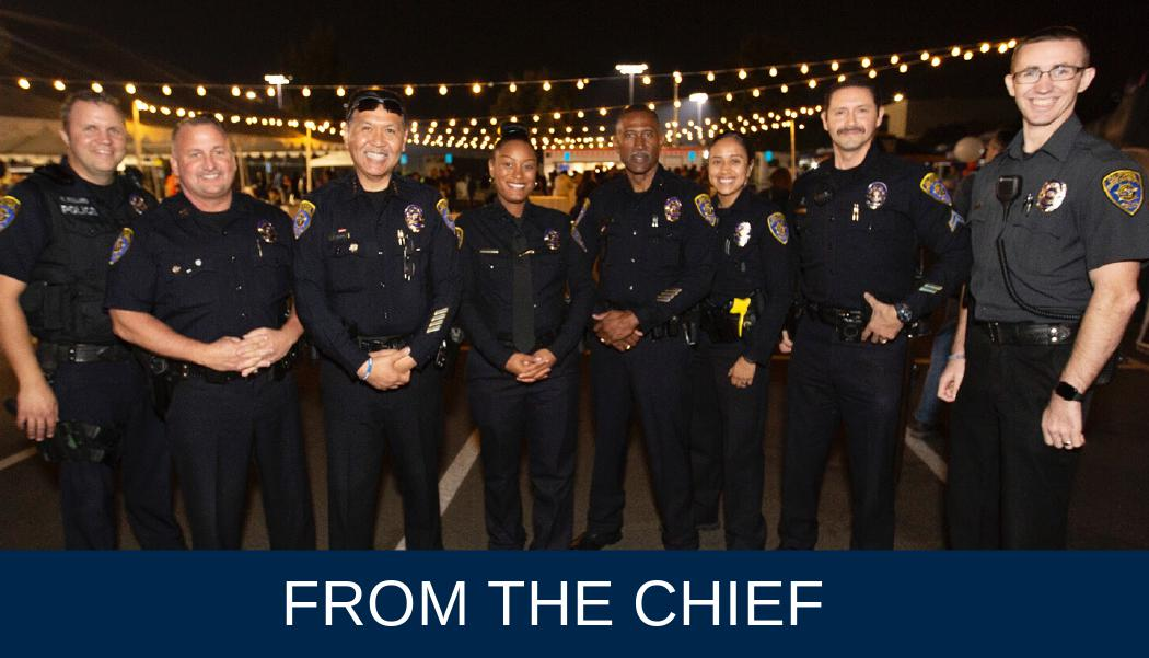 Messages from Chief Aguirre