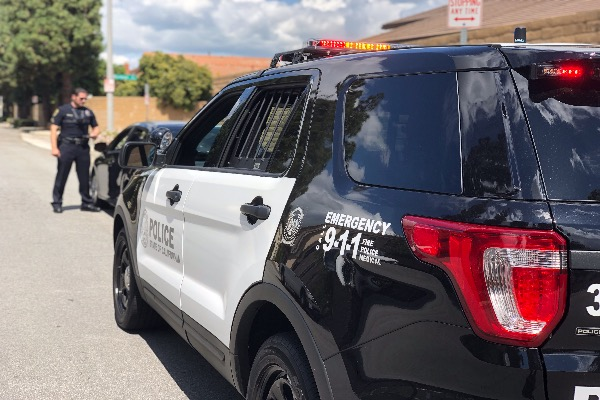 Photograph of CSUFPD Patrol Vehicle